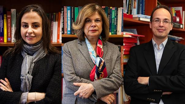 Three of our faculty members received 2017 prestigious TUBITAK Awards.